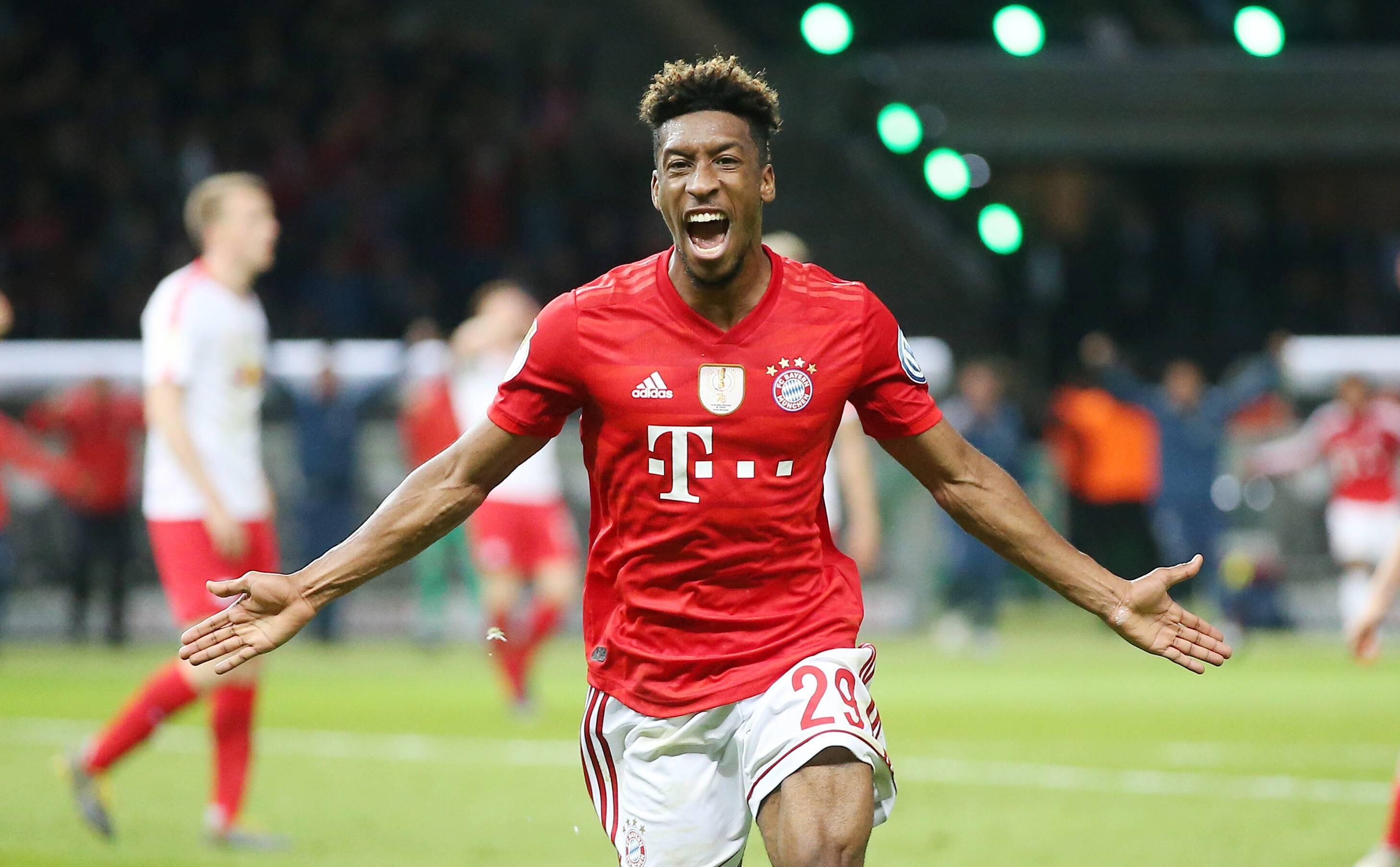 Bayern Munich : Kingsley Coman peut aller jusqu'à 33 km/h en ...