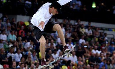Vincent Milou, champion d'Europe de skate !