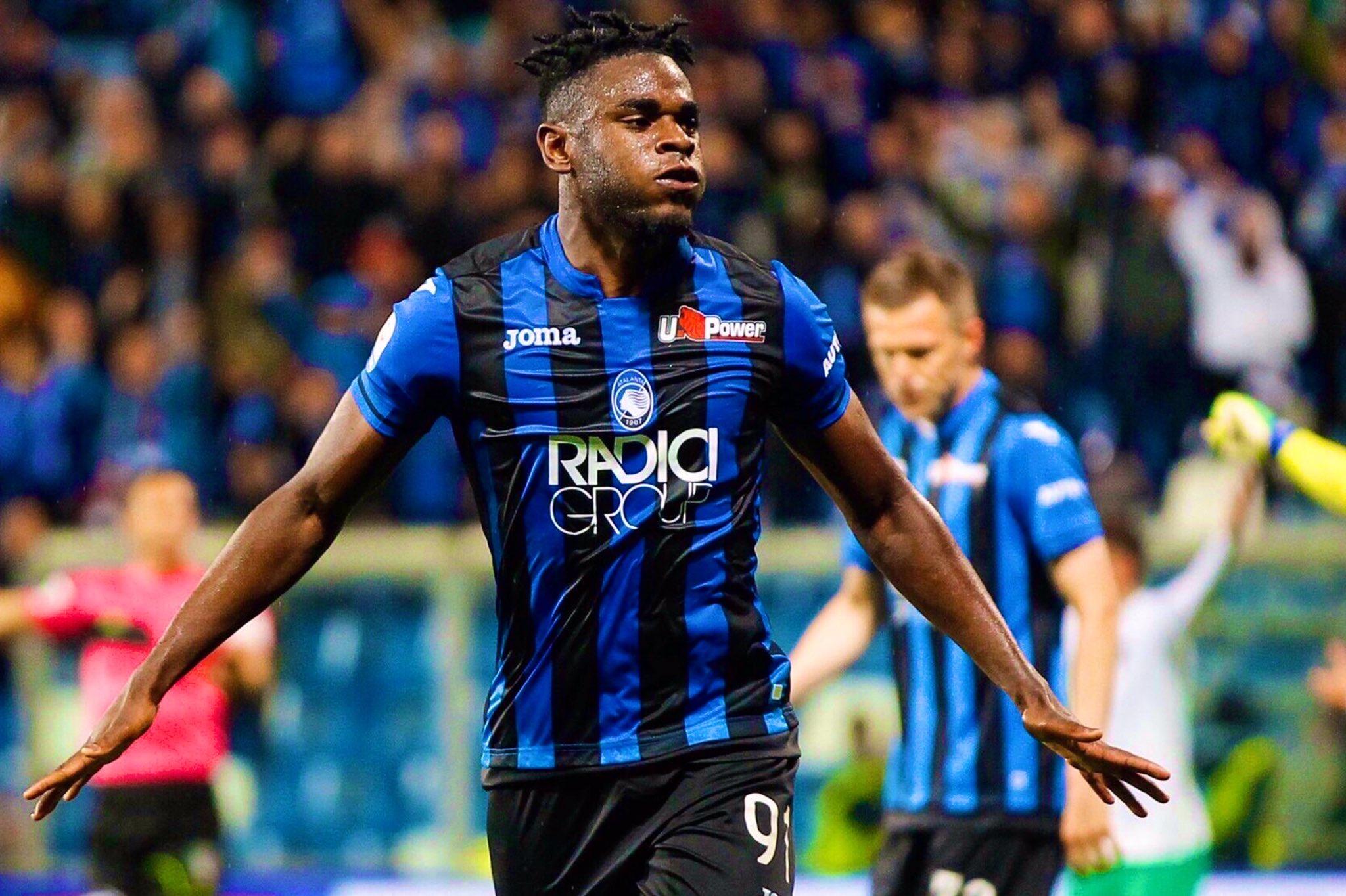 Officiel: L'Atalanta lève l'option sur Duván Zapata | Sport ...