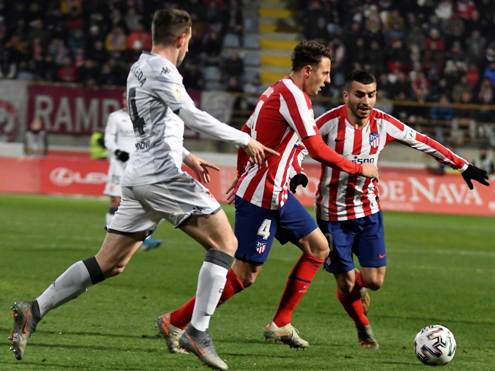 Coupe du Roi. Leonesa fait tomber l'Atletico de Madrid ...