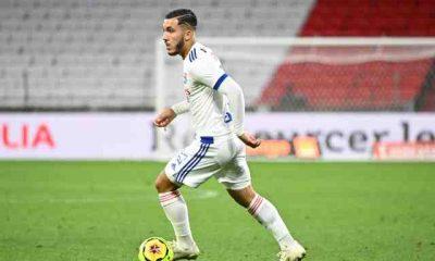 Rayan Cherki, 17 ans, titulaire ce soir lors de Lyon-Nîmes