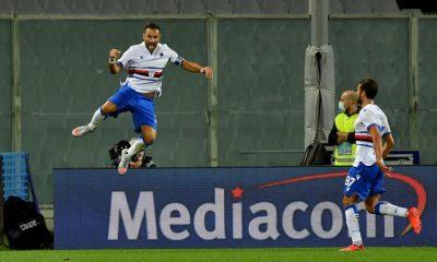 Ouverture du score de la Sampdoria