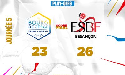 Besançon s'impose face à Bourg de Péage en Ligue Butagaz Energie