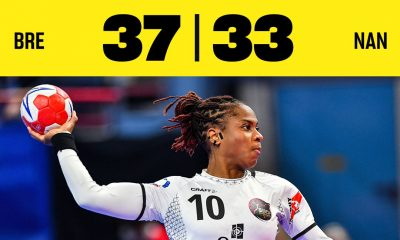Brest s'impose 37 à 33 face à Nantes en finale de la coupe de france
