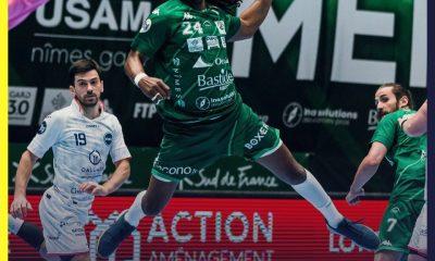 Toulouse s'impose de justesse face à Nîmes en Lidl Starligue