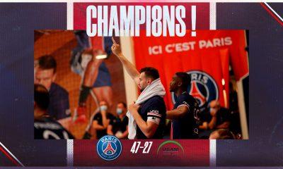 Paris remporte son dernier match de la saison de Lidl Starligue face à Nîmes