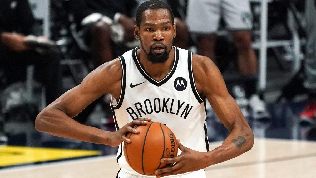 Le 5 de rêve de Kevin Durant sur NBA 2K