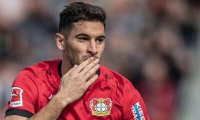 Lucas Alario envisage un départ du Bayer Leverkusen