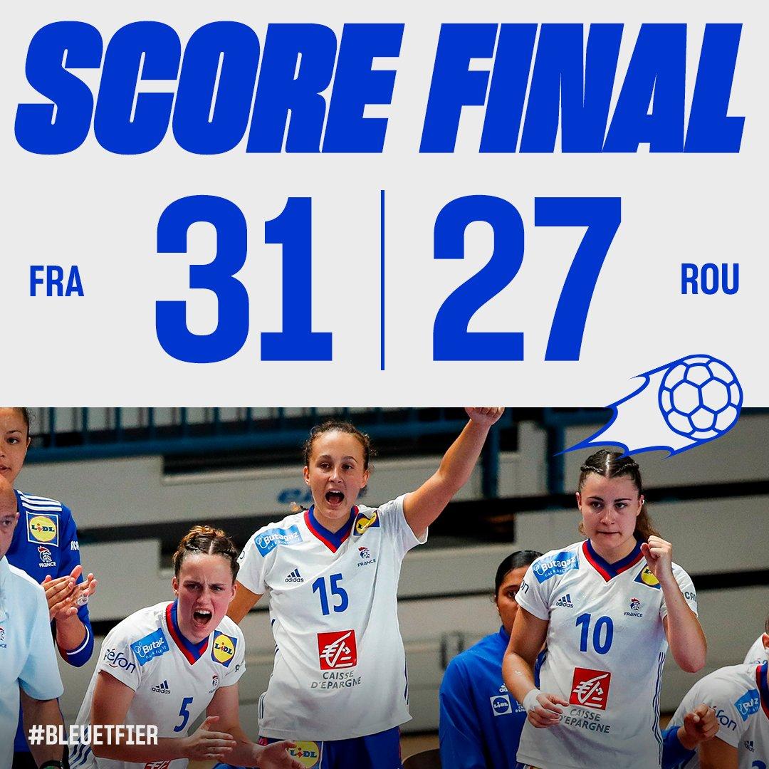 Les Bleuettes s'imposent face à la Roumanie dans cet Euro U19