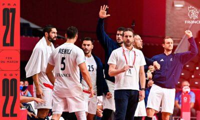 L'équipe de France se qualifie en finale des JO de Tokyo 2020 en battant l'Egypte