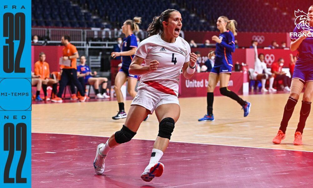 La France s'impose face aux Pays-Bas dans son quart de finale des JO de Tokyo 2020