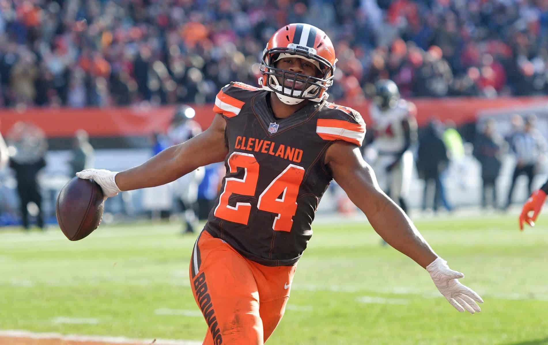 Nick Chubb prolonge avec les Browns