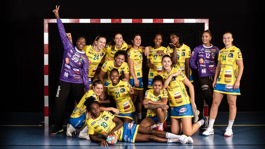 L'effectif du Metz Handball